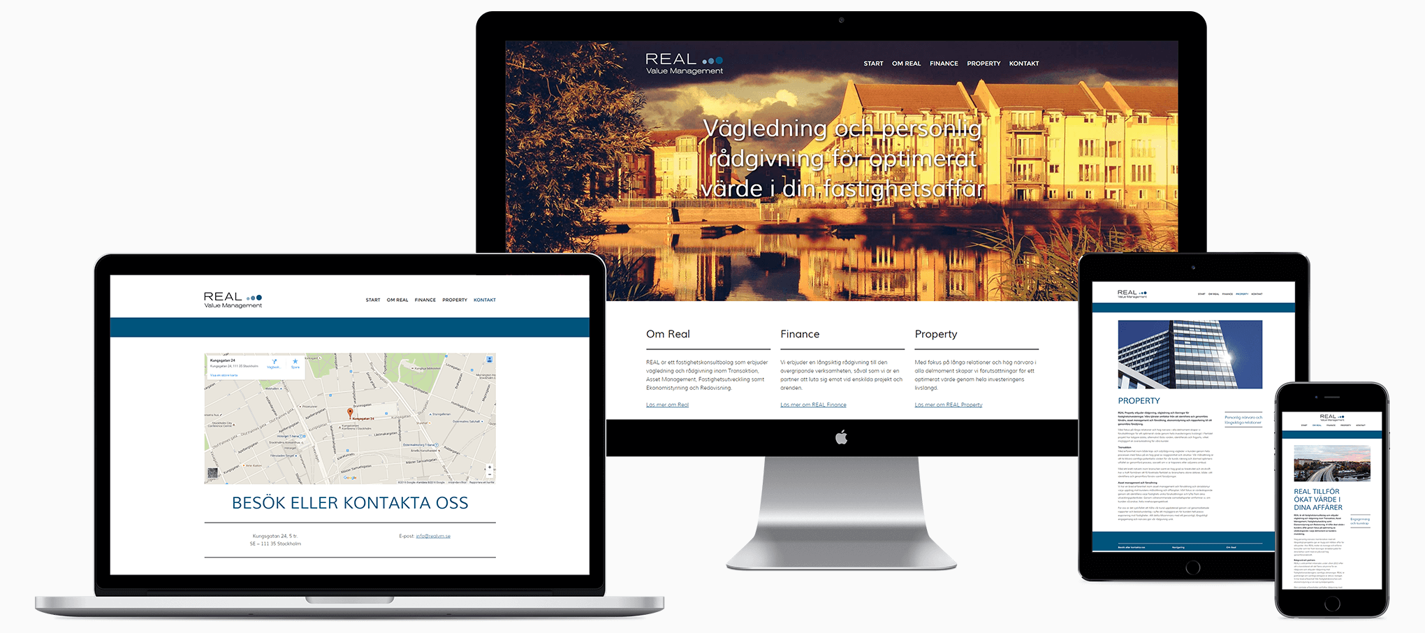 modern webbplats wordpress