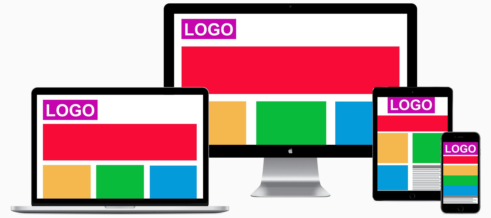 responsiv design hemsida